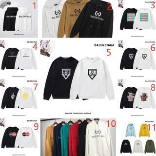 Balenciaga - 1枚7000円.2枚13000円Balenciaga長袖Tシャツパーカー