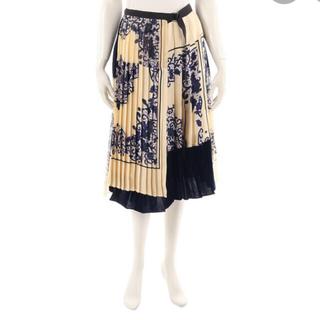 sacai - sacaiラップスカート