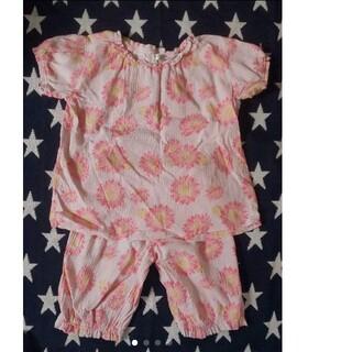 アンパサンド(ampersand)のampersand アンパサンド 半袖パジャマ 女の子 サイズ140cm(パジャマ)