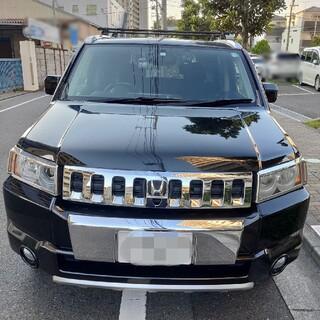 ホンダ - HONDA クロスロード 20-X 黒 メッキパーツ・カスタム多数 車検R4.7