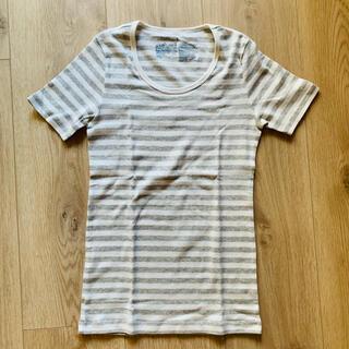 ムジルシリョウヒン(MUJI (無印良品))の無印良品 ボーダーTシャツ(Tシャツ(半袖/袖なし))