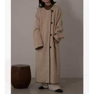 lawgy original piping coat コート(ロングコート)