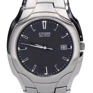 シチズン(CITIZEN)のシチズン エコドライブ 腕時計 メンズ 新品(金属ベルト)