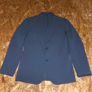MUJI (無印良品) - 無印良品 乾きやすいストレッチジャケット 紳士S・ダークグレー
