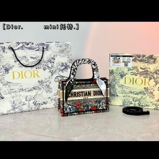 Dior - ディオール❤️Lady DIOR ミニトートバッグ