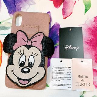メゾンドフルール(Maison de FLEUR)の♡Maison de FLEUR♡ミニー スマホカバー iPhoneX/XS♡♡(iPhoneケース)