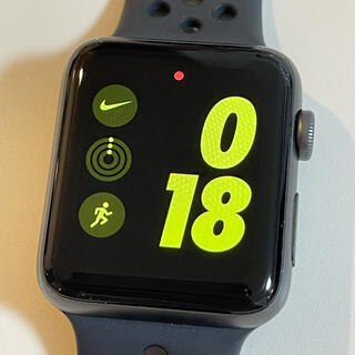 Apple - Apple Watch 3 NIKE+限定モデル 42mm Cellular美品
