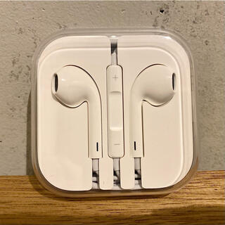 Apple - 【Apple純正品】iPhone 純正イヤホン イヤホンジャック型 新品未使用