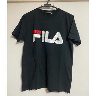 フィラ(FILA)のFILA Tシャツ 半袖 ブラック(Tシャツ(半袖/袖なし))