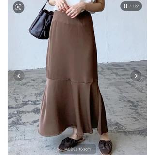 LOWRYS FARM - lian ヴィンテージサテンマーメイドスカート