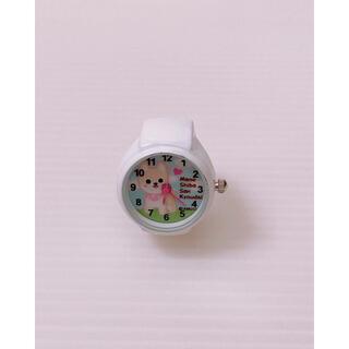時計 豆柴 ミニ時計