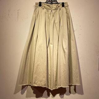 レトロガール(RETRO GIRL)の【RETROGIRL】裾フリンジロングスカート(ロングスカート)
