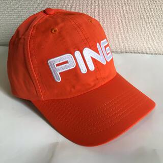 【新品】【希少】PING ゴルフ キャップ