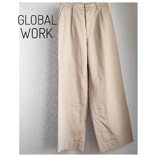 グローバルワーク(GLOBAL WORK)の未使用 【GLOBAL WORK】グローバルワーク チノワイドパンツ(ワークパンツ/カーゴパンツ)