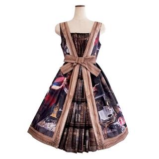 Juliette et Justine  robe a cadreドレス