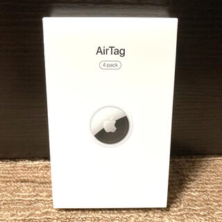 Apple AirTag エアタグ本体 4個入りセット(新品未開封)(その他)