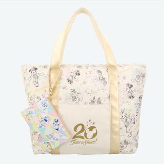 東京ディズニーシー☆20周年☆トートバッグ☆お品切れ