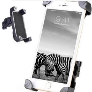 スマホホルダー バイクホルダー 自転車スタンド スマホ/iPhone多機種対応(その他)
