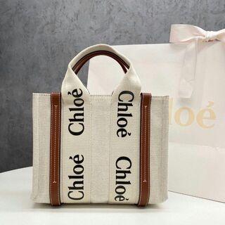 Chloe - Chloe「woody」スモールトートバッグ