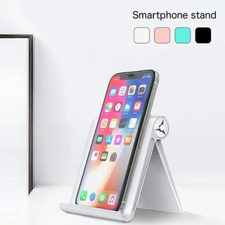 スマホスタンド スタンド 折りたたみ式 iPhone スマートフォン(その他)