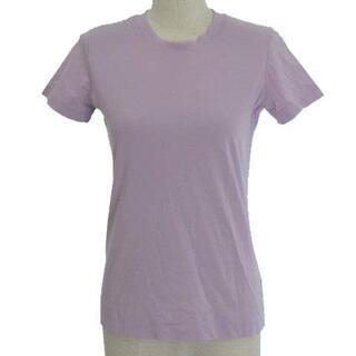 セオリー(theory)のセオリー 19AW Tシャツ カットソー 半袖 コットン パープル 紫 S(Tシャツ(半袖/袖なし))