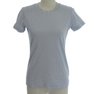 セオリー(theory)のセオリー theory 19AW Tシャツ カットソー 半袖 コットン 水色 S(Tシャツ(半袖/袖なし))