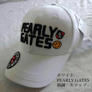 PEARLY GATES - パーリーゲイツ ゴルフキャップ 帽子 PEARLY GATES CAP