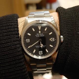 ロレックス(ROLEX)のランダム番 国内最安激安 ロレックス 114270 エクスプローラー  時計(腕時計(アナログ))