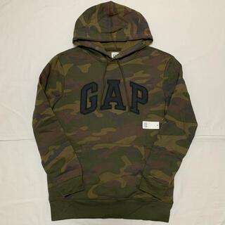 ギャップ(GAP)の新品 GAP ギャップ 裏起毛 ロゴ パーカー XS トレーナー 長袖 メンズ(パーカー)