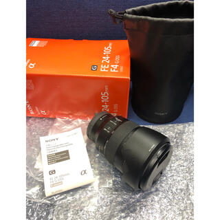 SONY - SONY FE 24-105 F4 G OSS 72mm保護フィルター付き