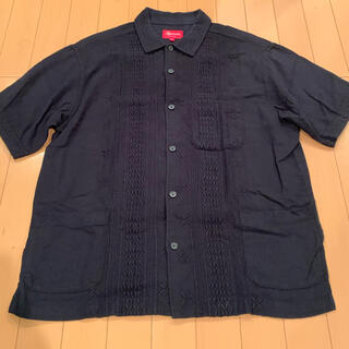 Supreme - Supreme シュプリーム Embroidered S/S Shirt 黒 M
