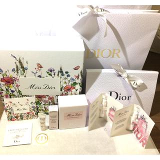 Dior - ミスディオール ブルーミングブーケ お花柄ボックス リボン付ショッパー等
