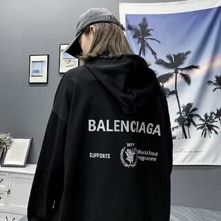 Balenciaga - 新品!男女兼用Balenciagaパーカー2枚13000 #22