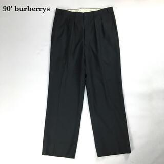バーバリー(BURBERRY)の90年代 バーバリー  スラックス スーツ メンズ 古着 ヴィンテージ  パンツ(スラックス)