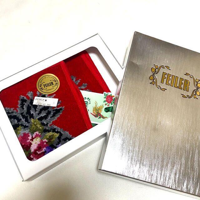FEILER(フェイラー)の新品FEILERハンカチ レディースのファッション小物(ハンカチ)の商品写真
