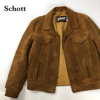 ショット(schott)のSCHOTT ショット スエード レザージャケット ライダース ブルゾン(レザージャケット)