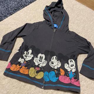 Disney - キッズ 男の子 パーカー ミッキー 長袖 ディズニーランド 110 110cm