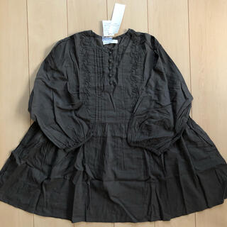 SM2 - サマンサモスモスブルー ピンタック刺繍ブラウス 新品タグ付き