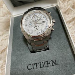 CITIZEN - CITIZEN GN-4W-S アテッサ エコドライブ メンズ 腕時計
