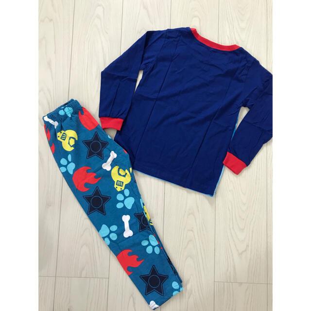 パウパトロール パジャマ 120 キッズ/ベビー/マタニティのキッズ服男の子用(90cm~)(パジャマ)の商品写真