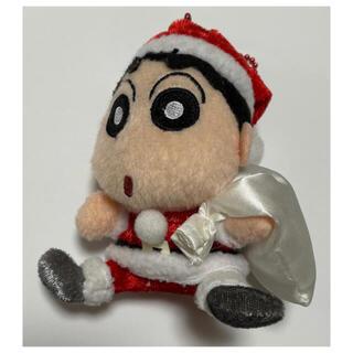 クレヨンしんちゃん クリスマス ぬいぐるみキーホルダー