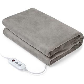 ⭐️多機能性抜群!【電気毛布】電気ブランケット 膝掛け 防寒対策 暖房器具(電気毛布)