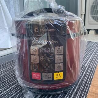 ショップジャパン 電気圧力鍋 レッド色 人気の1台8役 新品