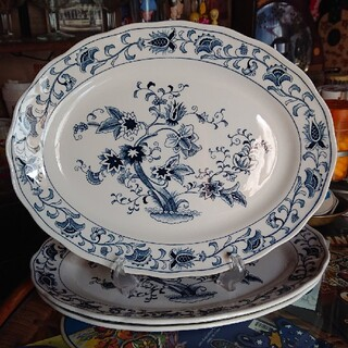 ニッコー(NIKKO)のニッコー ダブルフェニックス ミングトゥリー楕円皿(食器)