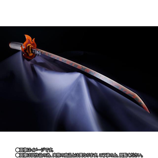 鬼滅の刃 PROPLICA 日輪刀 煉獄杏寿郎 エンタメ/ホビーのおもちゃ/ぬいぐるみ(キャラクターグッズ)の商品写真