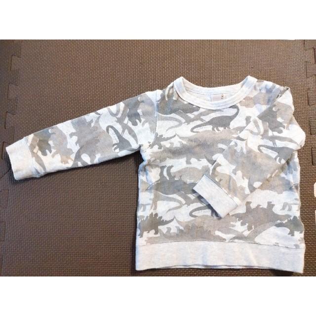 petit main(プティマイン)のpetit main トレーナー 長袖 100 キッズ/ベビー/マタニティのキッズ服男の子用(90cm~)(Tシャツ/カットソー)の商品写真