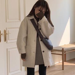 vegetable teddy half coat(テーラードジャケット)