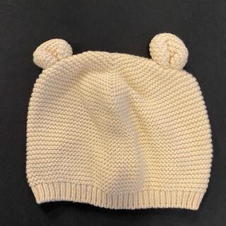 babyGAP - ベビーギャップ くまさん帽子 美品 48cm