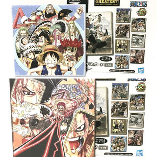 ONE PIECE ワンピース 一番くじ キャンバスボード 2枚セット
