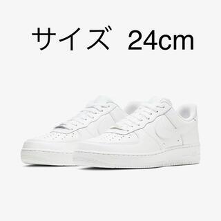 NIKE - NIKE AIR FORCE 1 ホワイト 【新品未使用】
